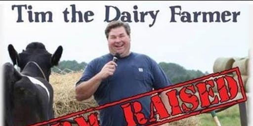 Agriculture Comedian, Tim the Dairy Farmer! Support FFA OWASSO*!*