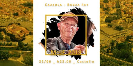 Gianni Cazzola e Michele Bozza 4et biglietti