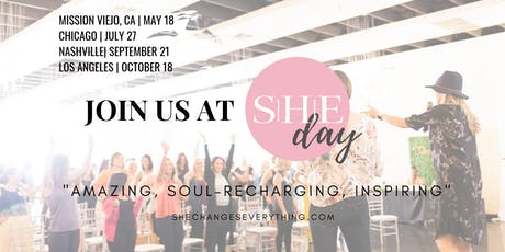 SHE Day: By SHE Changes Everything (Chicago) | A Sustainable, Healthy, Ethical Wellness Event!  tickets