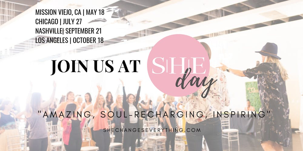 SHE Day: By SHE Changes Everything (Chicago) | A Sustainable, Healthy, Ethical Wellness Event! Tickets, Sat, Jul 27, 2019 at 8:00 AM | Eventbrite