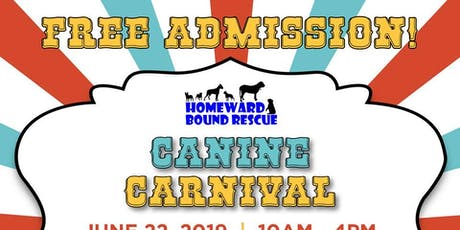 Homeward Bound Rescue's Canine Carnival tickets