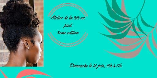 """Atelier """"De La Tête Au Pied"""" 3e Édition, Avec Zazzlife, Easy Day Canada Et Artizans 4/22"""