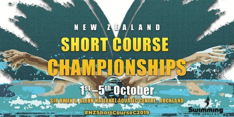 2019 New Zealand Short Course Championships tickets