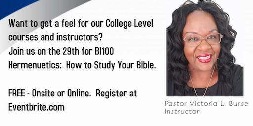 Taste N See - How to Study Your Bible