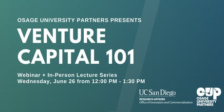 Webinar: Venture Capital 101 tickets