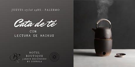 Cata de tés y lectura de Haikus. Introducción al Cha-do y Haiku-do. entradas