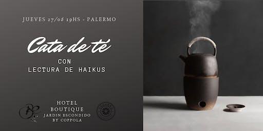 Cata de tés y lectura de Haikus. Introducción al Cha-do y Haiku-do.