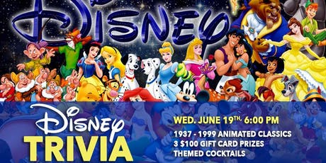 Disney Animated Classics Trivia 1.2 (1937-1999) tickets