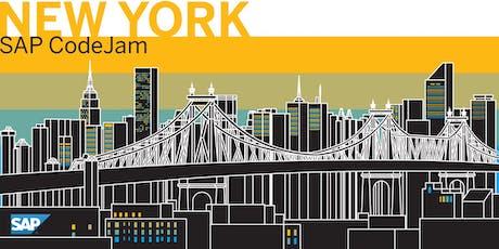 SAP CodeJam New York tickets