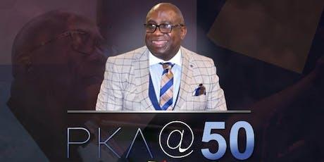PKA @ 50 tickets