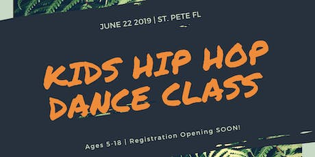Kid's Hip Hop Dance Class  tickets