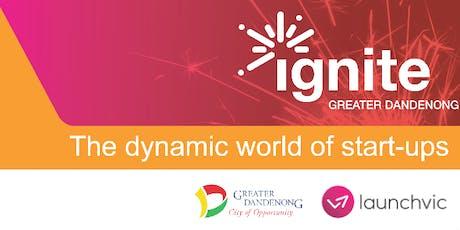 "Ignite Greater Dandenong - Workshop: ""Revenue Streams"" (Thursday 20 June) tickets"