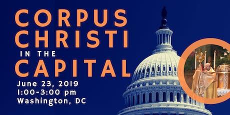 Corpus Christi in the Capital tickets