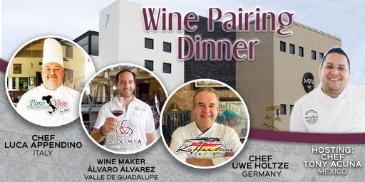 Wine pairing dinner at Infusion del Golfo