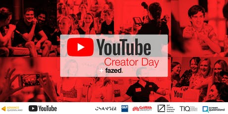 Create QLD — YouTube Creator Day Finale + Fazed tickets