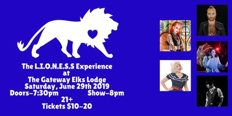 The LIONESS Experience tickets