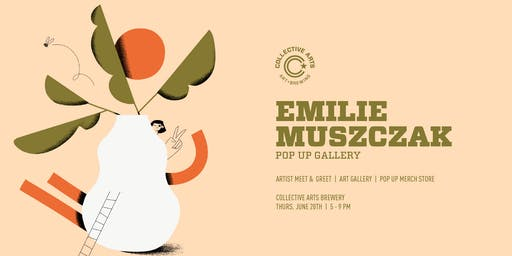 Artist Pop Up with Emilie Muszczak