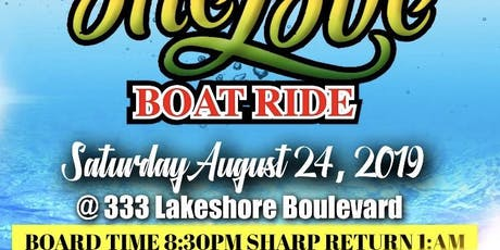 ONE LOVE BOAT RIDE tickets
