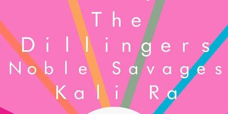 PsychoZodiac Presents - A Benefit Show | The Dillingers | Noble Savages | Kali Ra tickets