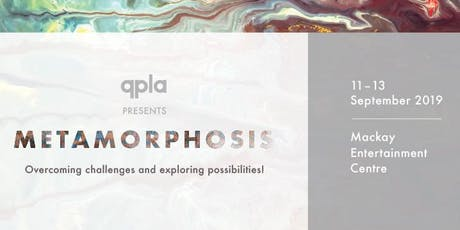 QPLA 2019 Conference - Metamorphosis tickets