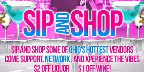 Sip & Shop Columbus  tickets