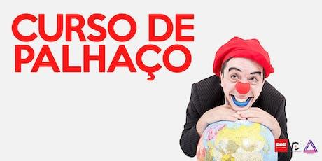 CURSO DE PALHAÇO ingressos