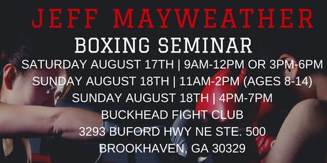 Jeff Mayweather Boxing Seminar tickets