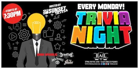Trivia Night On Mondays! tickets