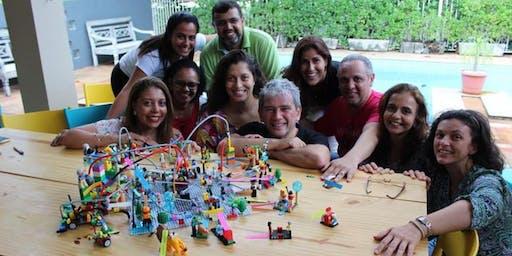 LEGO® SERIOUS PLAY® Methods: Certificação para facilitar Times & Grupos Praia do Forte