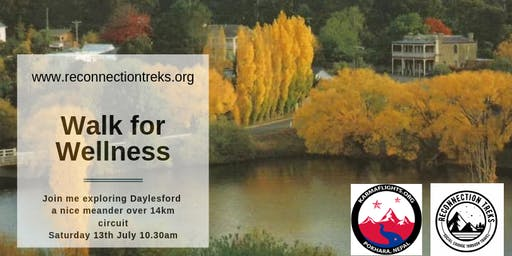 Walk for Wellness - Daylesford to Bryces Flat