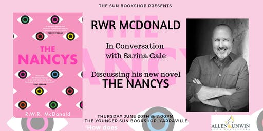 Author Event: RWR McDonald In Conversation