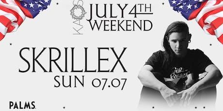 7.7 Skrillex July 4th Weekend Party @ KAOS Dayclub Las Vegas tickets