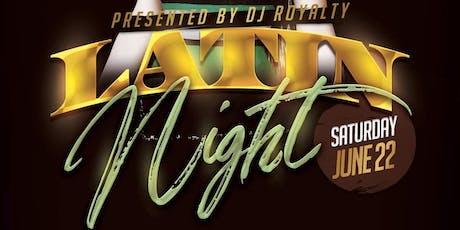 Latin Night @ Gentleman Jacks Bar & Grille tickets