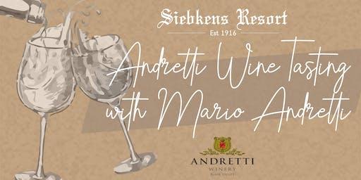 Andretti Wine Tasting with Mario Andretti