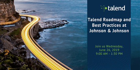 Talend Roadmap and Best Practices @ Johnson & Johnson tickets