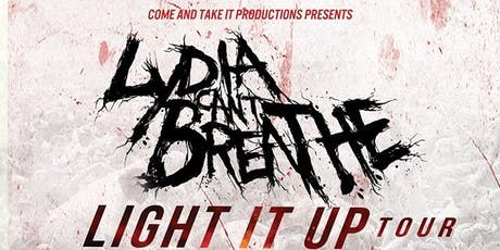 LYDIA CAN'T BREATHE tickets