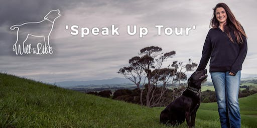 Will to Live's 2019 Speak Up Tour - FAIRLIE, South Canterbury