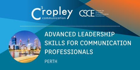 Advanced Leadership Skills for Communication Professionals  tickets