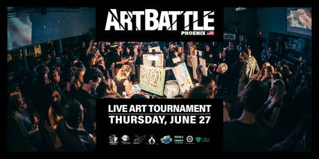 Art Battle Phoenix - June 27, 2019 tickets