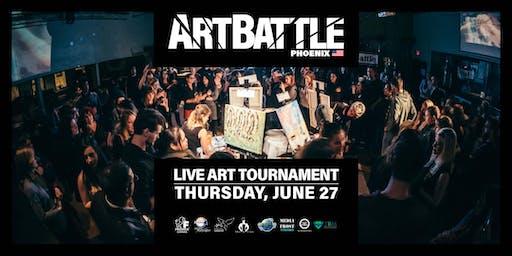 Art Battle Phoenix - June 27, 2019