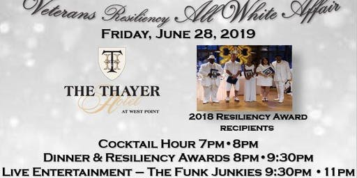 The  5TH Annual Veterans Resiliency All White Affair