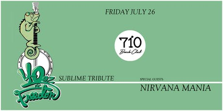 "40 Oz To Freedom ""Sublime Tribute"" 
