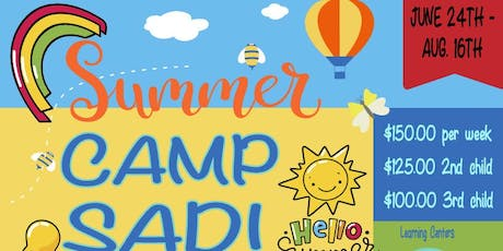 Camp Sadi Summer Camp tickets