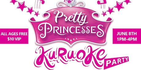 Princess Karaoke Party | Free for all ages + Vendor Shop tickets