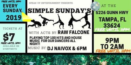 Simple Sunday's @peopleneedpeople (Bien SImpLe) tickets