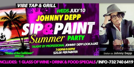 Summer Paint Party with *Johnny Depp tickets