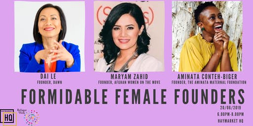 Formidable Female Founders