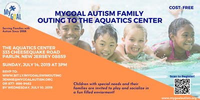 MyGOAL Autism Family Outing to Aquatics Center