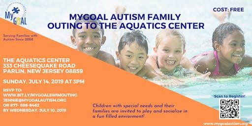 MyGOAL Autism Family Outing to Aquatics Center