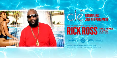Rick Ross / Thursday July 4th / Clé tickets